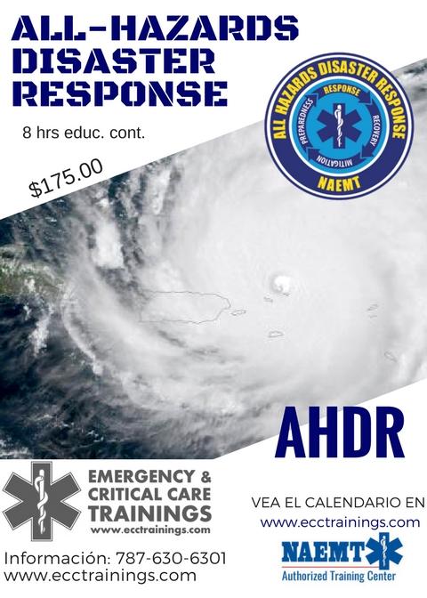 AHDR ECCtrainings Puerto Rico