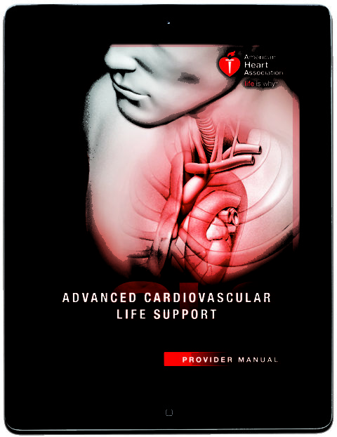 acls for experienced providers manual and resource text