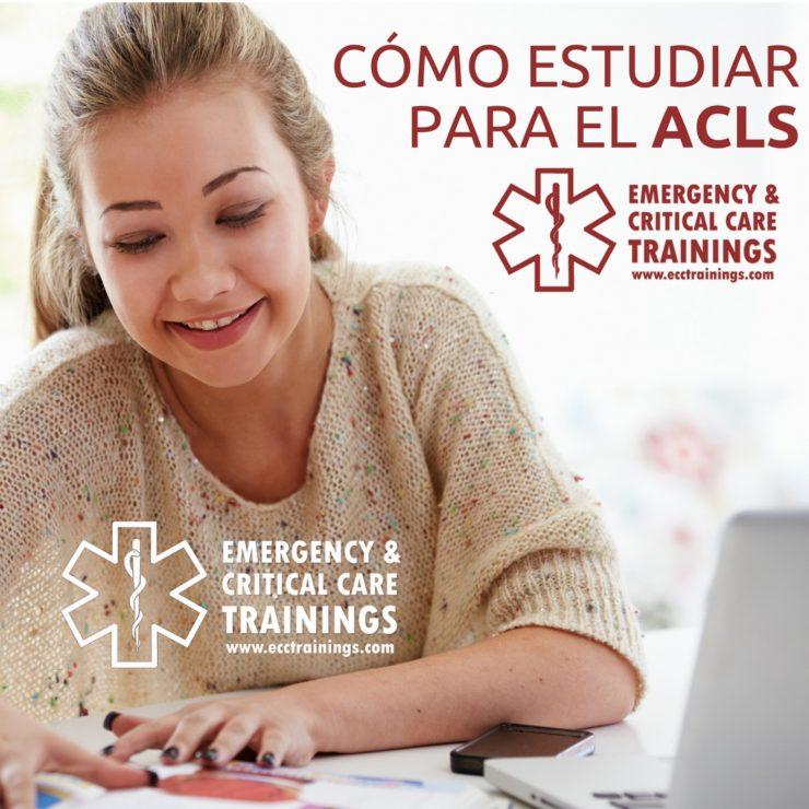 Cómo estudiar para el ACLS