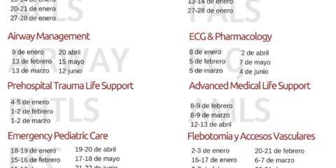Calendario Enero 2018 ECCtrainings