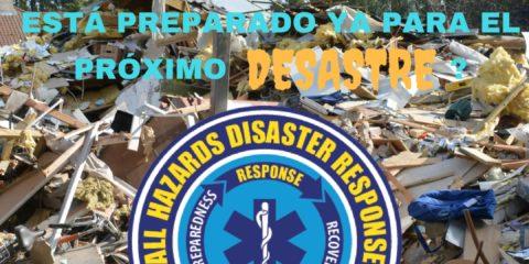 Está preparado ya para el próximo desastre?