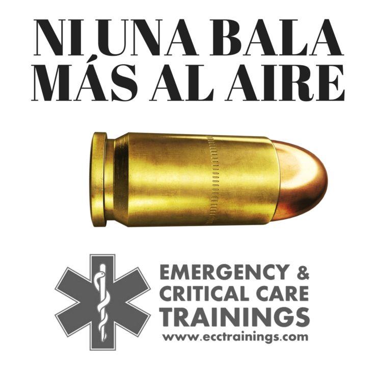 no más balas al aire
