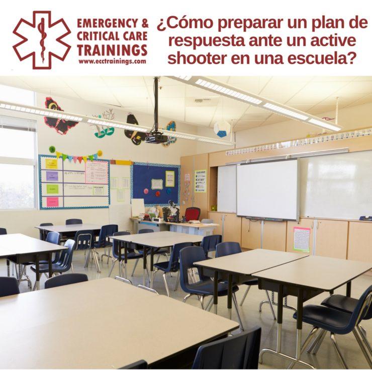 ¿Cómo preparar un plan de respuesta ante un active shooter en una escuela?