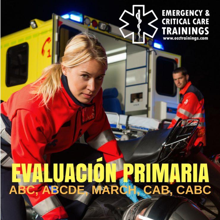 evaluación primaria march ecctrainings