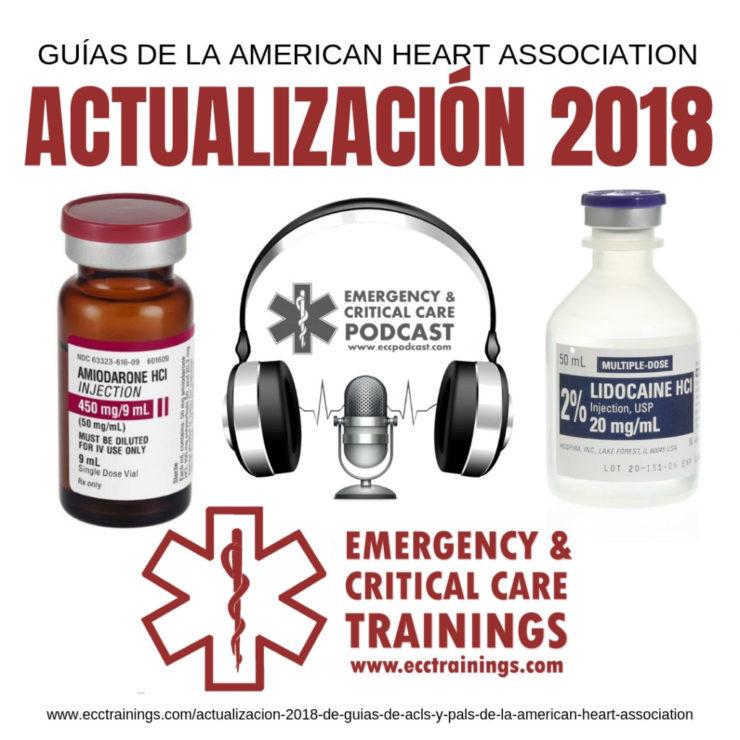 Actualización 2018 de Guías de ACLS y PALS