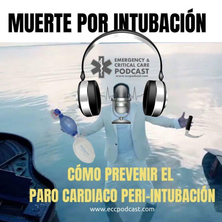 paro cardiaco peri-intubación ecctrainings eccpodcast