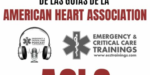actualización 2019 de las guías de ACLS eccpodcast ecctrainings