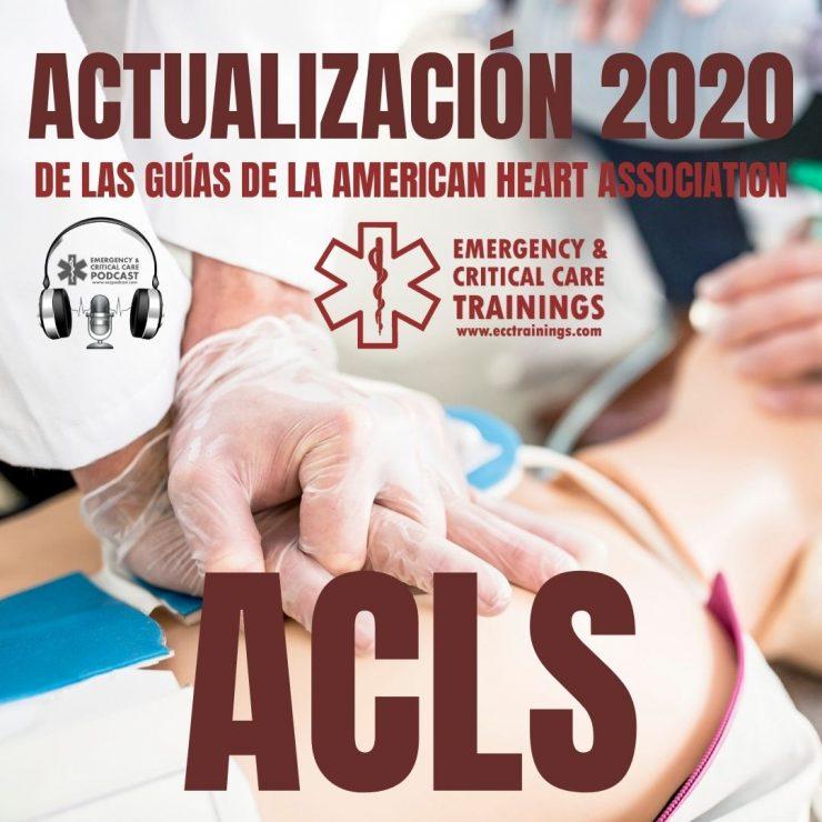 100: Actualización 2020 de ACLS